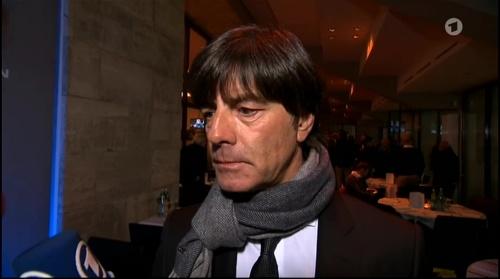 Joachim Löw half-time interview - Hertha BSC v Borussia Dortmund (DFB Pokal) 2015-16 4
