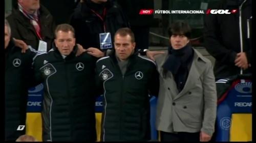 Joachim Löw & Hansi Flick – Ukraine v Germany (2011) 1
