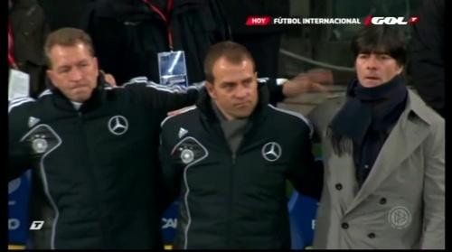 Joachim Löw & Hansi Flick – Ukraine v Germany (2011) 2