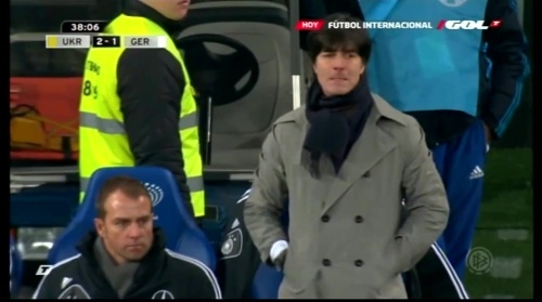 Joachim Löw & Hansi Flick – Ukraine v Germany (2011) 3