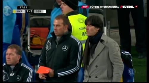 Joachim Löw & Hansi Flick – Ukraine v Germany (2011) 5