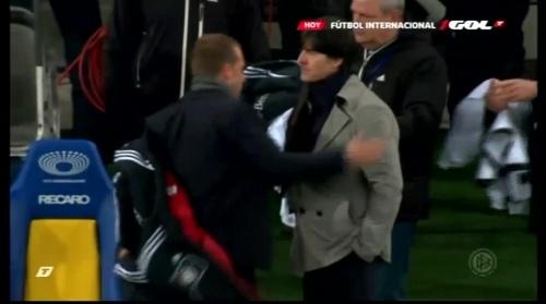 Joachim Löw & Hansi Flick – Ukraine v Germany (2011) 8