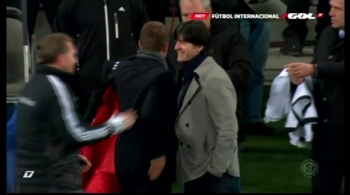 Joachim Löw & Hansi Flick – Ukraine v Germany (2011) 9