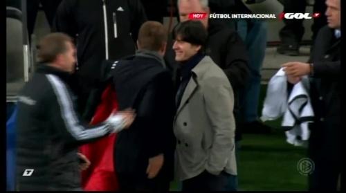 Joachim Löw & Hansi Flick – Ukraine v Germany (2011) 9
