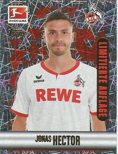 Jonas Hector - 1.FC Köln - Bundesliga 2015-16 sticker