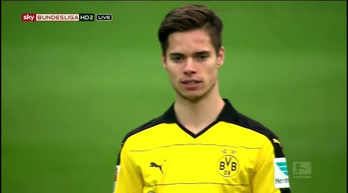 Julian Weigel – Dortmund v Hoffenheim 1