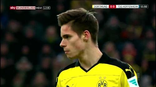 Julian Weigel – Dortmund v Hoffenheim 2
