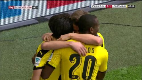 Kagawa, Ginter & Ramos – Schalke v Dortmund 1
