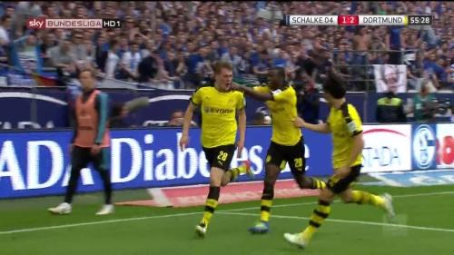 Kagawa, Ginter & Ramos – Schalke v Dortmund 2