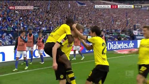 Kagawa, Ginter & Ramos – Schalke v Dortmund 3