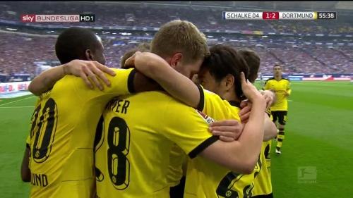 Kagawa, Ginter & Ramos – Schalke v Dortmund 4