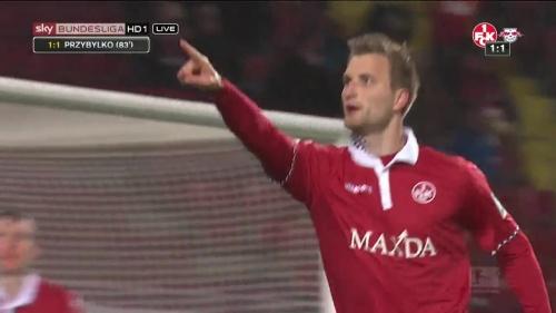 Kasper Przybylko - 1.FC Kaiserslautern v RBL 2