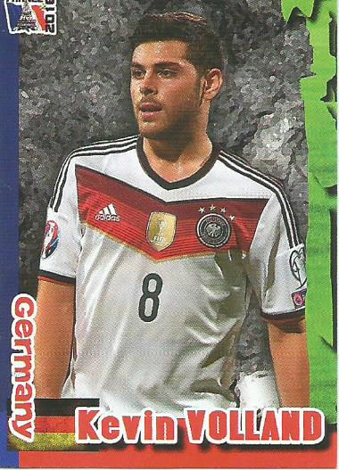 Kevin Volland - Germany - Euro 2016 Schoolshop sticker