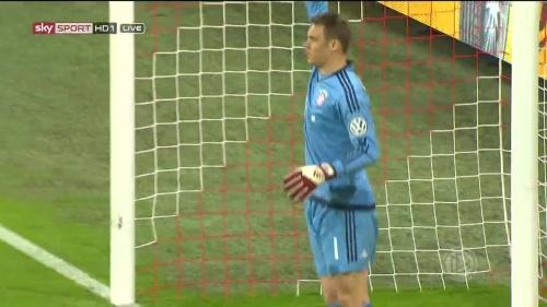 Manuel Neuer - Bayern v Bremen (DFB Pokal) 1