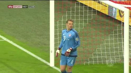 Manuel Neuer - Bayern v Bremen (DFB Pokal) 2