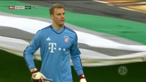 Manuel Neuer - Bayern v Bremen (DFB Pokal) 6