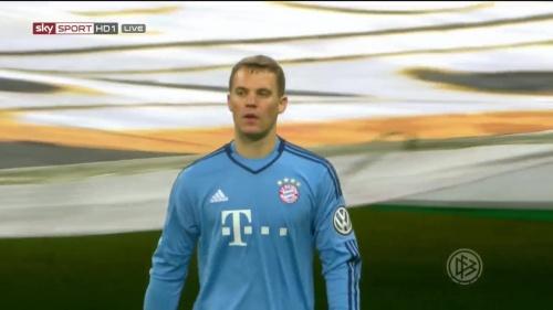 Manuel Neuer - Bayern v Bremen (DFB Pokal) 7