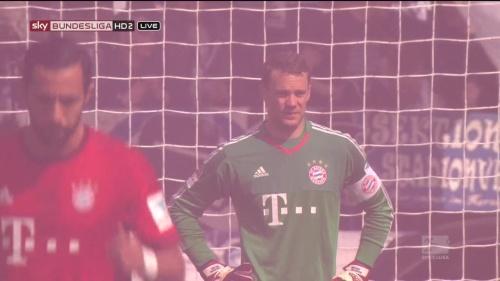 Manuel Neuer – Hertha v Bayern 5