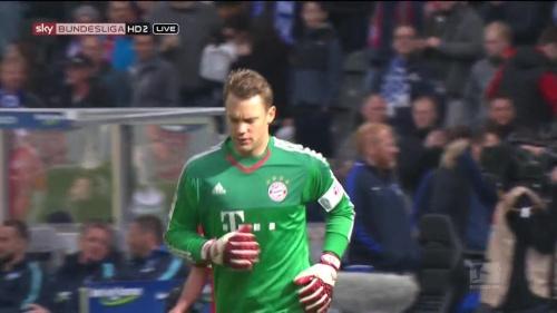 Manuel Neuer – Hertha v Bayern 8
