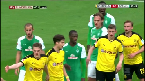 Matthias Ginter - Dortmund v Bremen 2