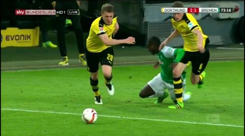 Matthias Ginter - Dortmund v Bremen 3