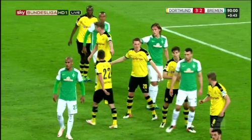Matthias Ginter - Dortmund v Bremen 4