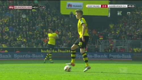 Matthias Ginter – Dortmund v HSV 10