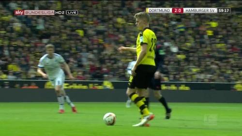 Matthias Ginter – Dortmund v HSV 11