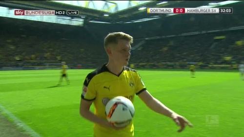 Matthias Ginter – Dortmund v HSV 4