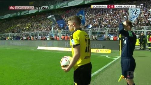 Matthias Ginter – Dortmund v HSV 5