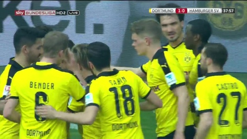 Matthias Ginter – Dortmund v HSV 6