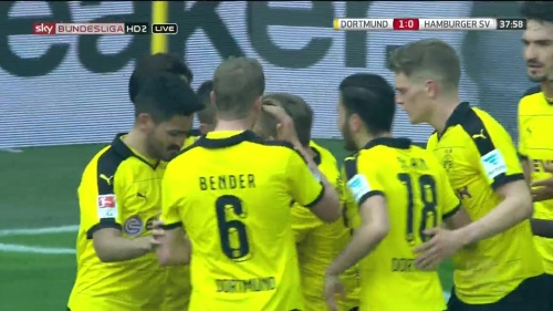 Matthias Ginter – Dortmund v HSV 7