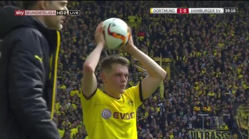 Matthias Ginter – Dortmund v HSV 8