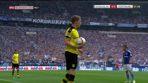 Matthias Ginter – Schalke v Dortmund 2