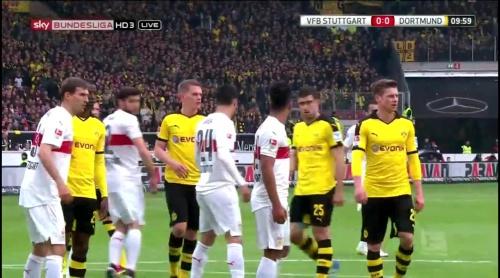 Matthias Ginter – Stuttgart v Dortmund 2