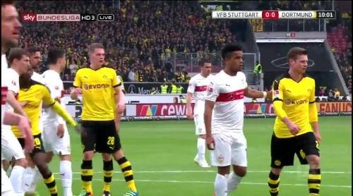 Matthias Ginter – Stuttgart v Dortmund 3