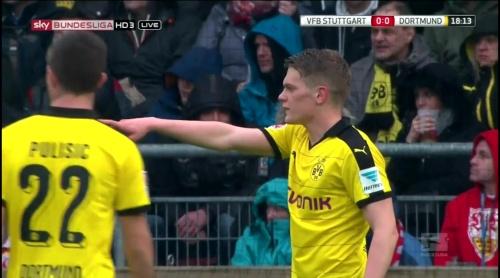 Matthias Ginter – Stuttgart v Dortmund 4