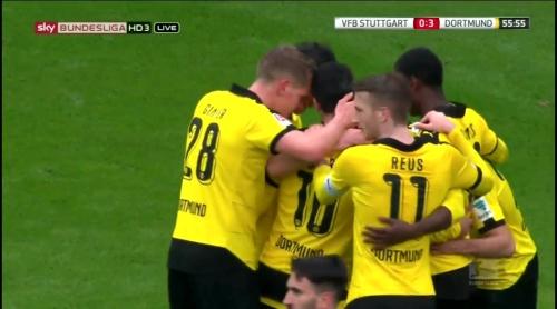 Matthias Ginter – Stuttgart v Dortmund 6