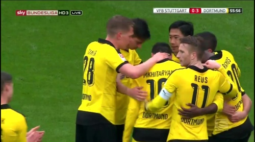 Matthias Ginter – Stuttgart v Dortmund 7