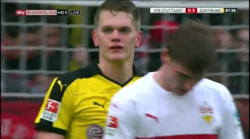Matthias Ginter – Stuttgart v Dortmund 8