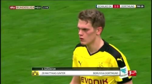 Matthias Ginter - Schalke v Dortmund 4