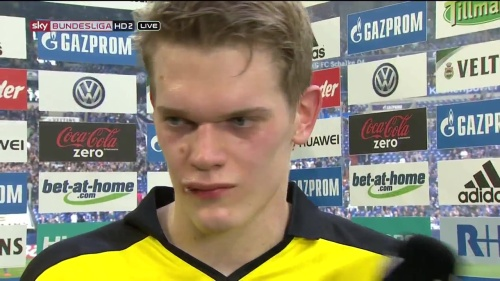 Matthias Ginter - Schalke v Dortmund post-match interview 2