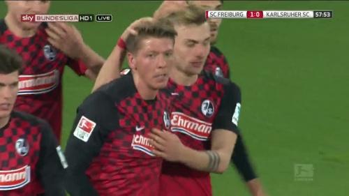 Maximilan Philipp & Mike Frantz – SC Freiburg v KSC