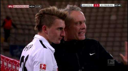 Maximilian Philipp & Christian Streich - Arminia Bielefeld v SC Freiburg
