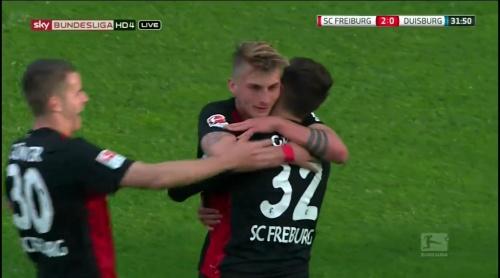 Maximilian Philipp – Freiburg v Duisburg 3