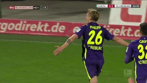 Maximilian Philipp - Greuther Fürth v SC Freiburg 2