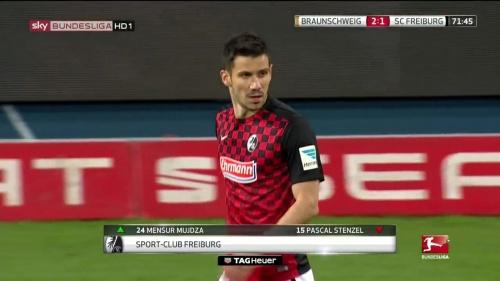 Mensur Mujdza – Braunschweig v SC Freiburg 1