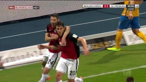 Mensur Mujdza & Marc-Oliver Kempf – Braunschweig v SC Freiburg 1