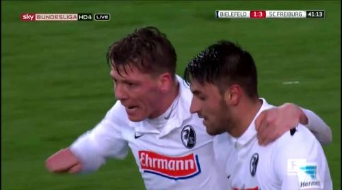 Mike Frantz & Vincenzo Grifo – Arminia Bielefeld v SC Freiburg