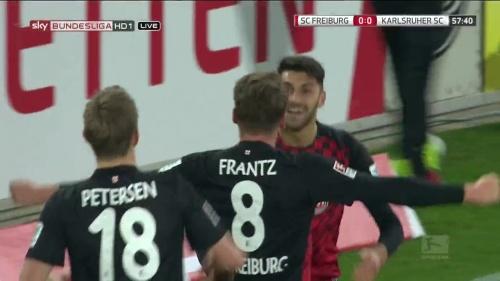 Mike Frantz & Vincenzo Grifo – SC Freiburg v KSC